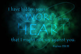 God's Word for your heart…
