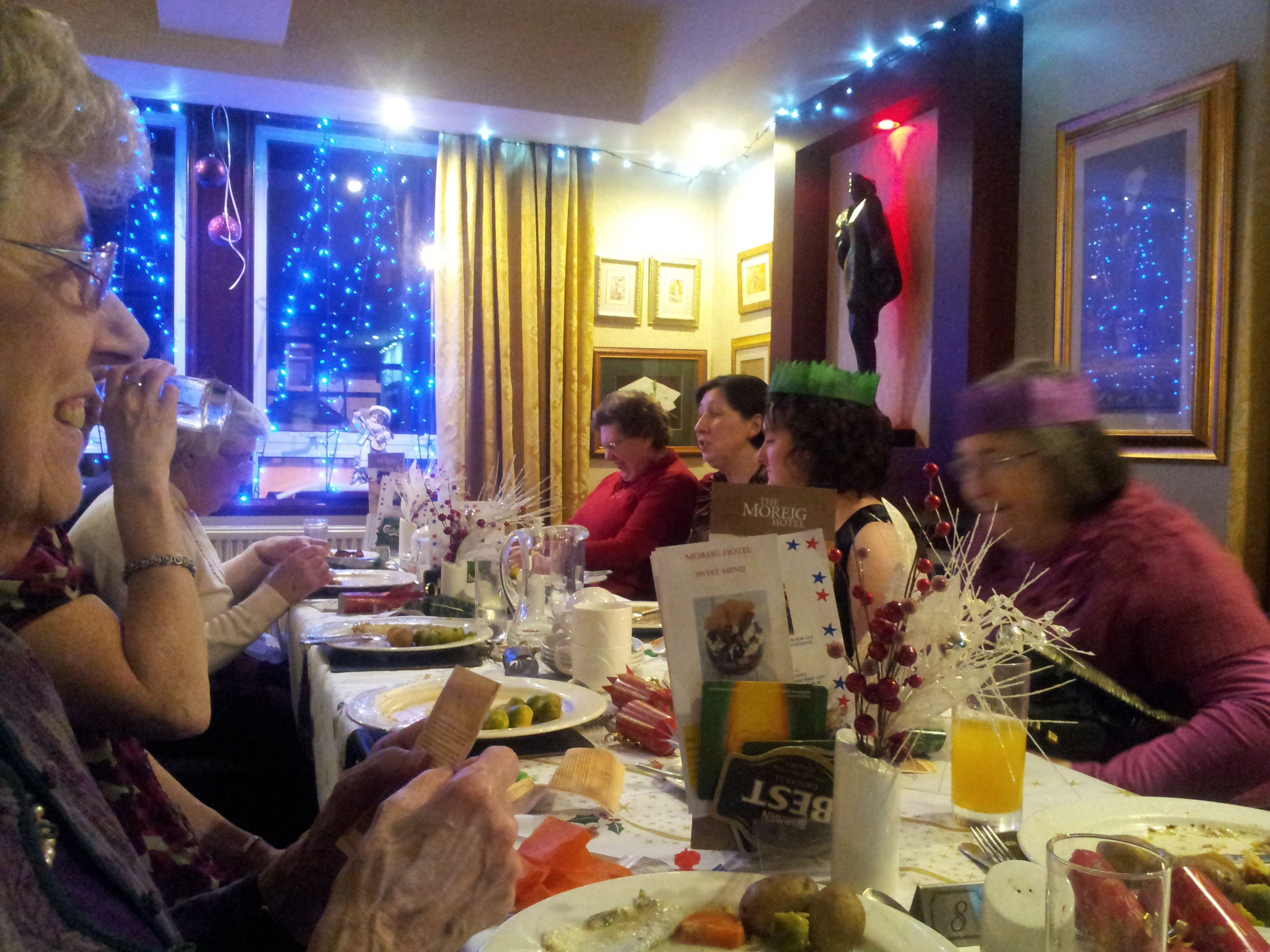 Ladies Christmas dinner - 2013 at Bethany Evangelical CHurch